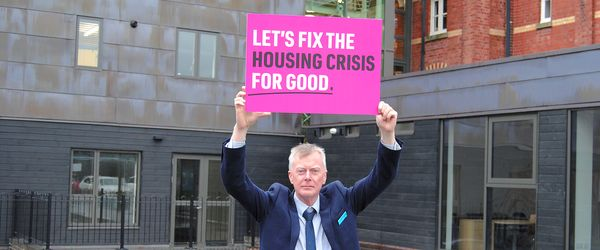 Connexus joins the National Housing Federation's #FixTheHousingCrisis campaign